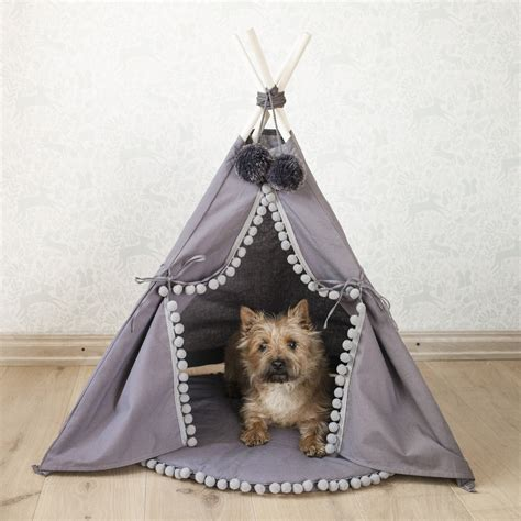 dog teepee bed pet bed dog bed cat bed dog teepee cat tipi with base