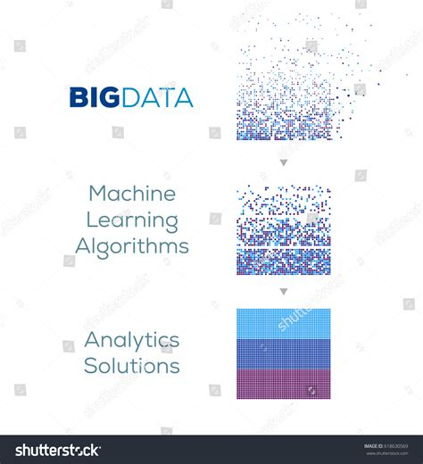 learning for beginners concepts and algorithms data sciences volume 1 books big data machine learning algorithms analysis stock vector