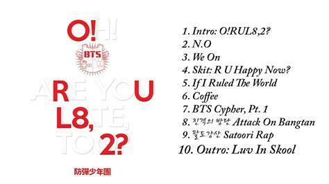 download mp3 bts o rul8 2 bts 방탄소년단 o rul8 2 the 1st mini album full album