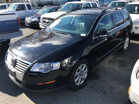 2007 black volkswagen passat 2007 volkswagen passat black gas automatic vin