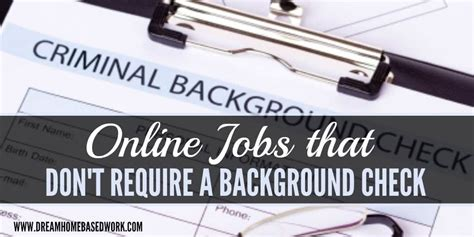 that do not require background checks that do not require a background check