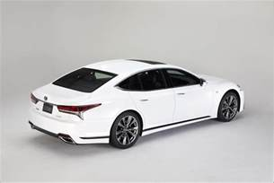 Lexus Ls 2018 Lexus Ls 500 F Sport Debuts In Nyc The Torque Report