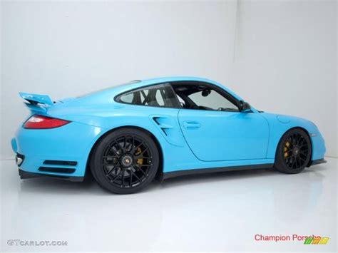 blue light on car 2010 light blue paint to sle porsche 911 turbo coupe