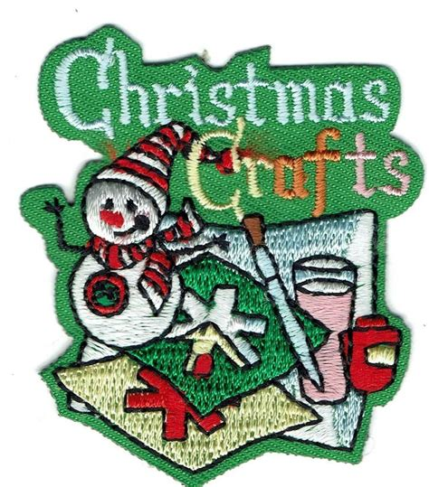 cub scout christmas crafts boy cub crafts green projects patches crests badges scout guides ebay