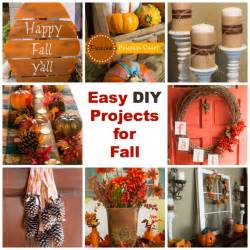 Diy Craft Projects For Home Decor easy diy projects for fall