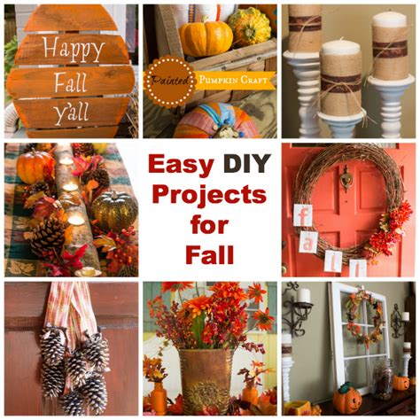 diy fall craft ideas easy diy projects for fall