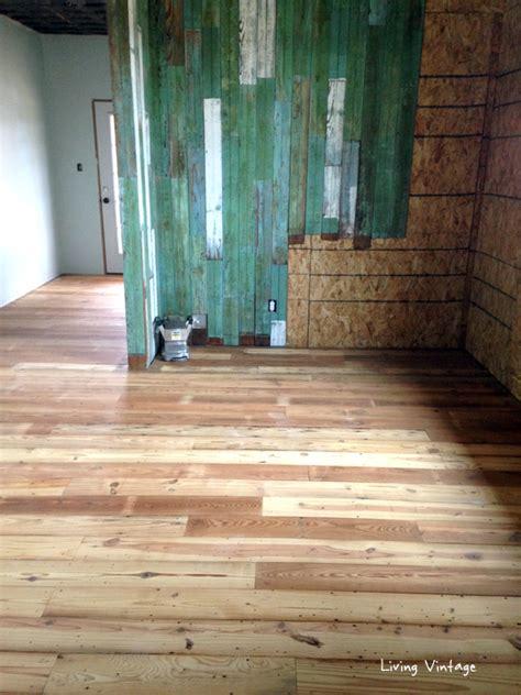 beadboard flooring antique reclaimed flooring installed living vintage