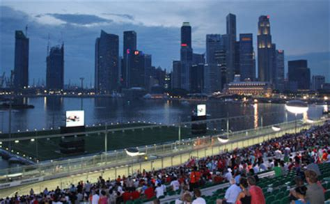Tiket F1 Singapore Marina Bay Circuit Connaught Grandstand singapore f1 2012 grand prix