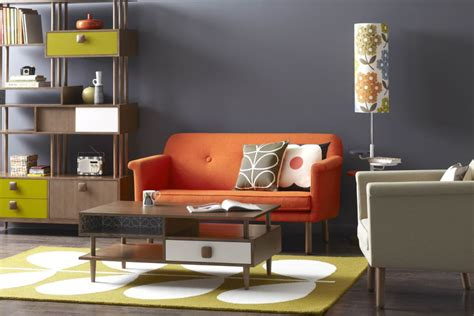 metro home decor interiors get the 1970s retro look with these design
