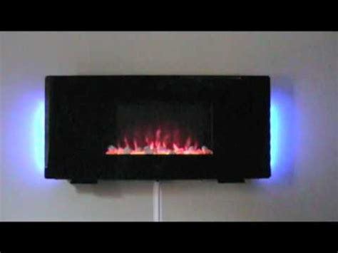 electric flat panel fireplace heater