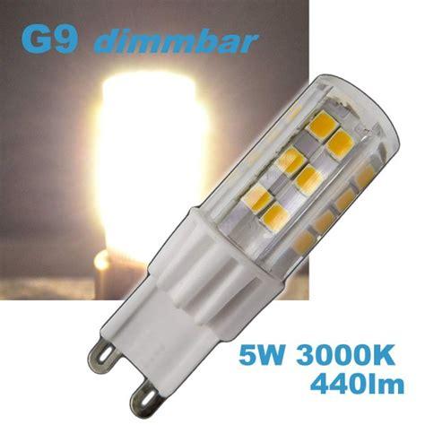 dimmbare leuchtmittel leuchtmittel g9 led dimmbar led g9 5w dimmbar 230v