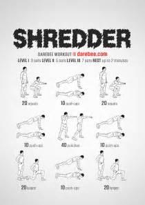 Exercises At Desk Shredder Workout