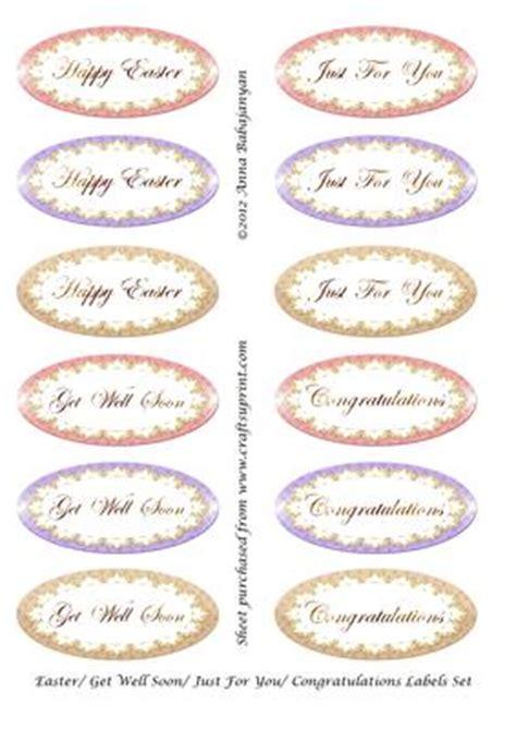 easter       congratulations labels cup craftsuprint
