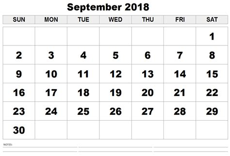 template calendar september 2018 september 2018 calendar september 2018 printable calendar