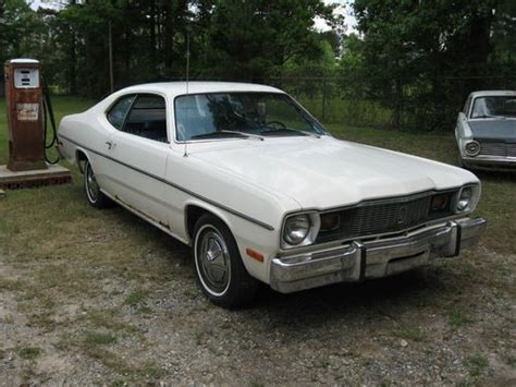 1976 plymouth duster for sale buy used 1976 plymouth duster dodge 6 cyl auto no reserve