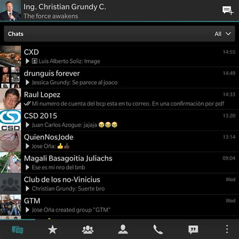 whatsapp themes for blackberry share your blackberry passport screenshots page 28