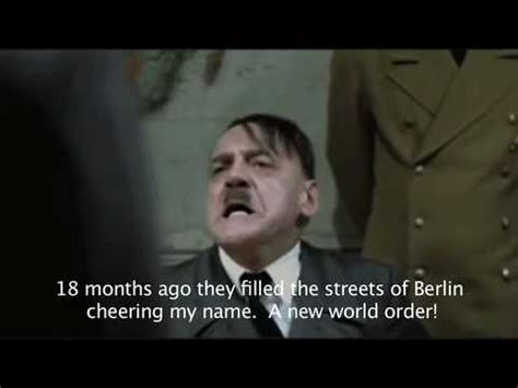 Hitler Bunker Meme - obama s health care bunker a hitler s downfall meme youtube