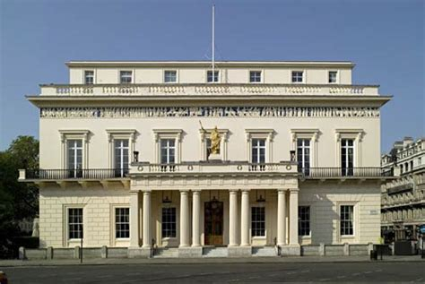House Architecture Plans by The Athenaeum Club Pall Mall London