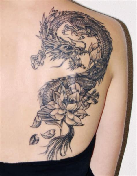 Janu Tribal janu drache mit lotus tattoos bewertung de