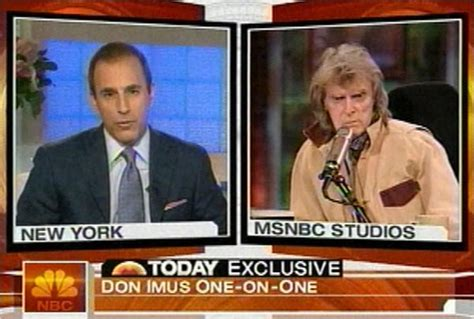 don imus loses to al sharpton during on hair battle imus jointblog the blog site for media trend watching