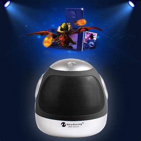 Speaker Bluetooth Robot Nr2012 nr 2012 wireless bluetooth boombox speaker robot model for