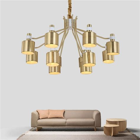 modern gold chandelier nordic dining room kitchen bedroom