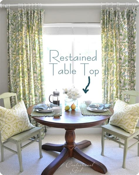 How To Stain A Dining Room Table by How To Restain A Wood Table Top Centsational