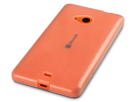 Cover Microsoft Lumia 535 tpu microsoft lumia 535 doorzichtig hoesje