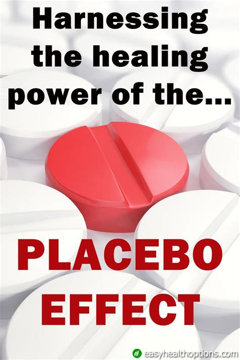 harnessing the healing power of the placebo effect easy