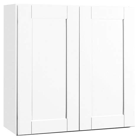 pctc cabinets hton bay shaker assembled 30x30x12 in wall kitchen