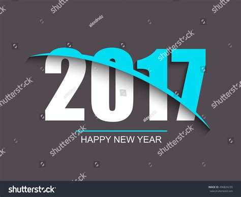 Happy New Year 2017 Card Template by Happy New Year 2017 Background Calendar Template