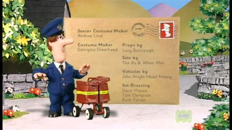 s day ending song postman pat ending theme what s in his bag
