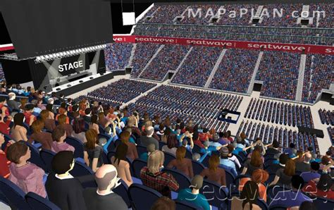 Leeds Arena Floor Plan by O2 Arena London Seating Plan Detailed Seat Numbers
