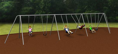 sturdy swing set 301 moved permanently