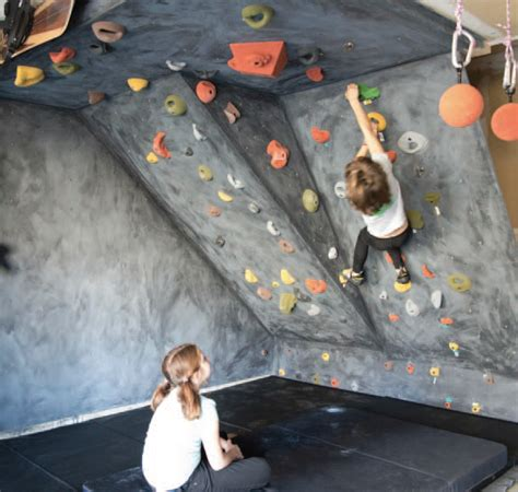 diy outdoor climbing wall how to diy a garage climbing wall with materials available