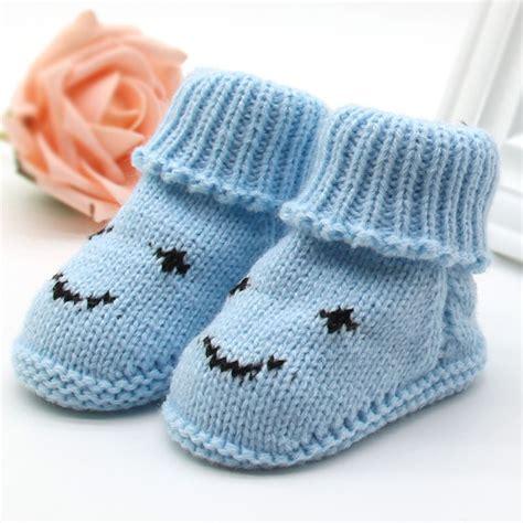 Prewalker Shoes Rocky Boots 0 6m kid boy warm knit crochet socks toddler infant