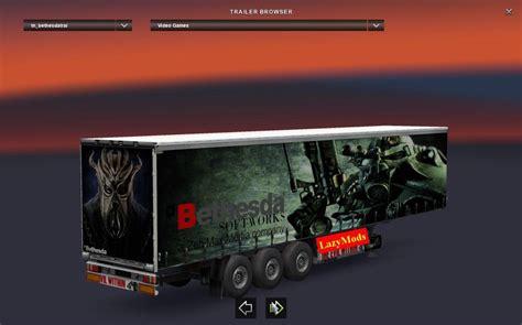bethesda trailer  lazymods ets mods euro truck simulator  mods etsmodslt