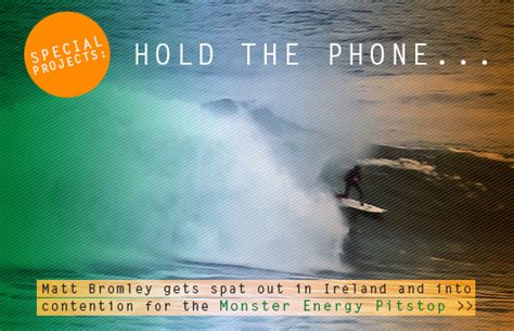 hold the phone hold the phone matt bromley enters keg energy pitstop zigzag magazine