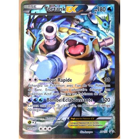 Asmodee Cartes Couleur Unie by Carte Pok 233 Mon Xy122 Tortank Ex 180 Pv Promo Fr Achat Vente Carte A Collectionner