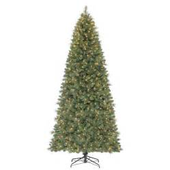 holiday living 9 ft pre lit robinson fir artificial