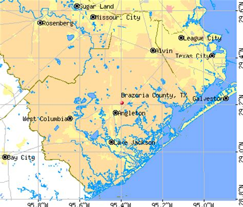 brazoria county texas map image brazoria county tx map