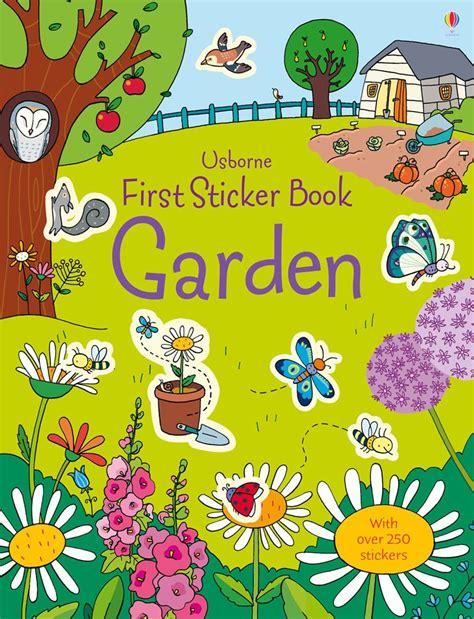 Usborne Sticker Book Cycling garden at usborne books at home