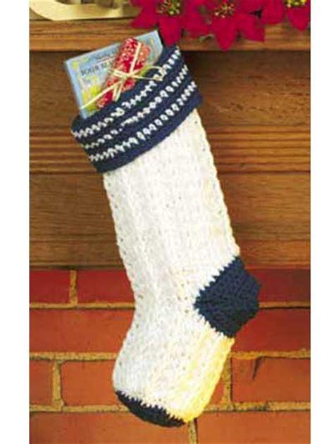 beginner crochet pattern for christmas stocking crochet seasonal christmas morning stocking