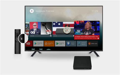 androids tv show dv8219 ott tv box from sdmc now with android tv official certification androidtvbox eu