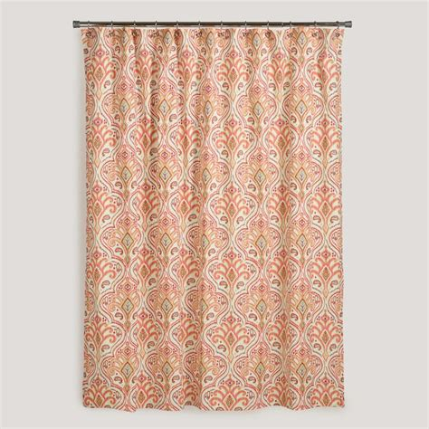 worldmarket curtains nomad ikat shower curtain world market for the home