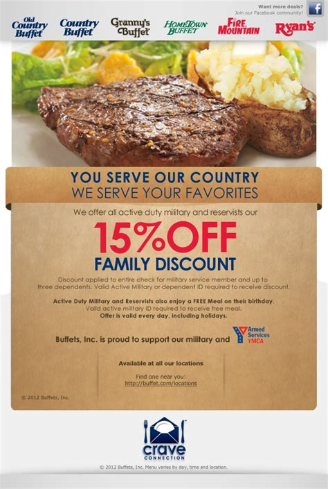 17 Best Images About Work Working 4 Veterans On Mountain Buffet Coupons