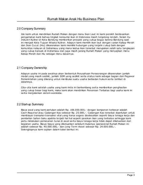 format proposal usaha warnet contoh business plan untuk restoran 7 hontoh