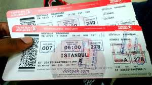 Airline Tickets To Turkish Airline Tickets Explore Pakistan