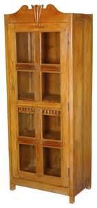 Display Cabinets Darwin Darwin Solid Teak Glass Single Door Display Curio