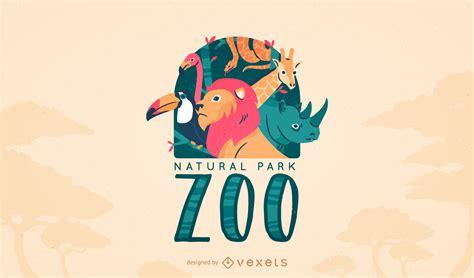 Logo Design Zoo | animal zoo logo template vector download